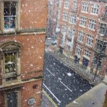 Snowing Manchester